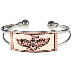 Native Thunderbird Wire Bracelet
