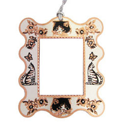 Cat Photo Frame Ornament
