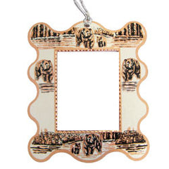 Bear and Cub Photo Frame Ornament