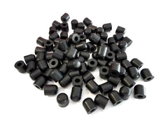 Rubber Cap Tips For Pipes, Rods, Poles, Sticks, and Shaft Ends