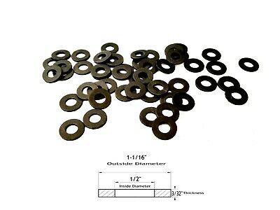 "25 Neoprene Rubber Washer - 1-1/16"" OD X 1/2"" ID X 3/32"" Thickness"
