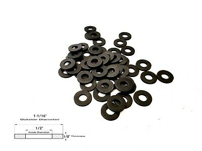 "25 Neoprene Rubber Washer - 1-1/16"" OD X 1/2"" ID X 1/8"" Thickness"