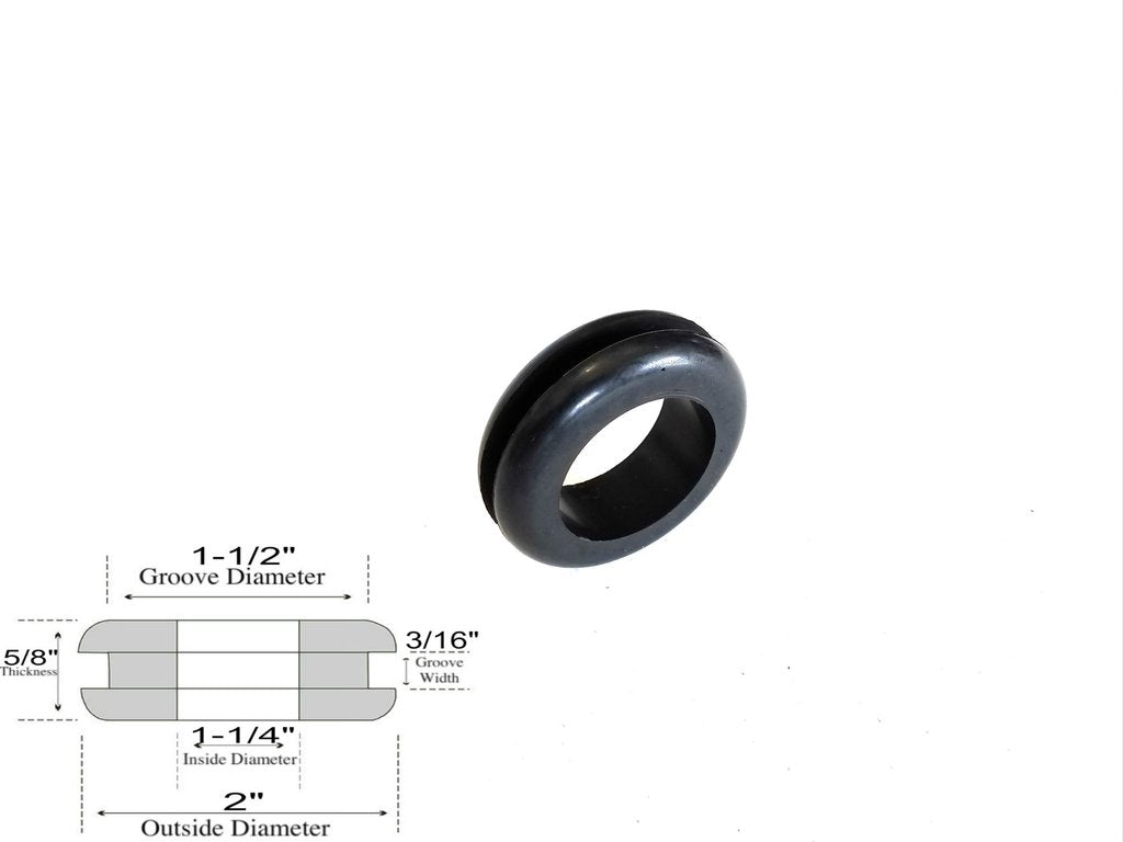 """Screws,Washer Built-in,Screw Hole 3//16/"""" Lot of Rubber Feet 1-1//2/"""" W x 5//8/"""" H"""