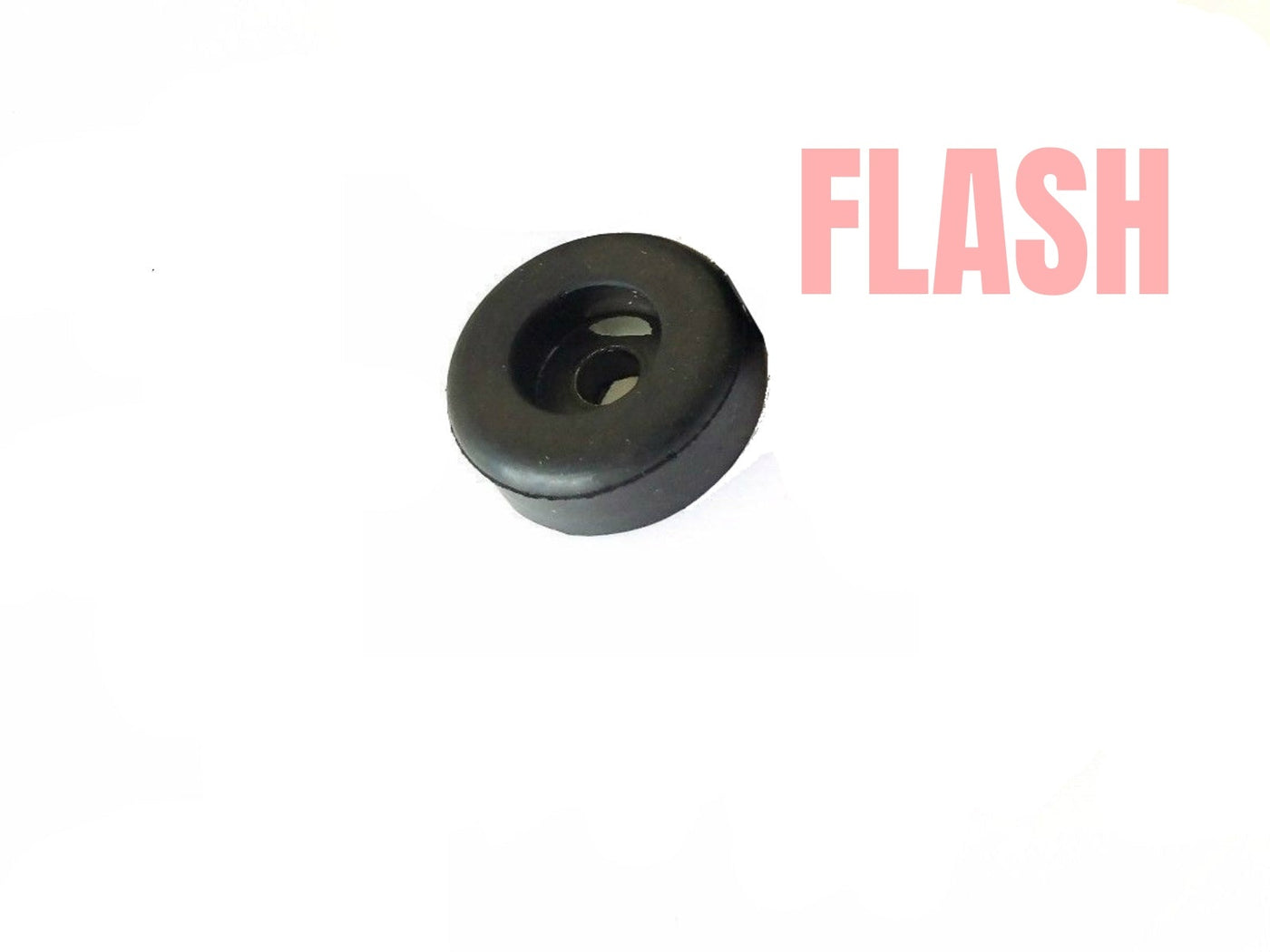 "8 Recessed Medium Hard Plastic Bumpers /""Rubber Feet/"" 3//4/"" Diam With Metal Washer"