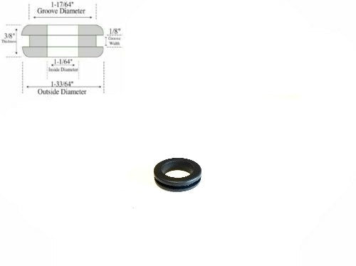 Rubber Grommet - RG1176418 - Rubberfeetwarehouse