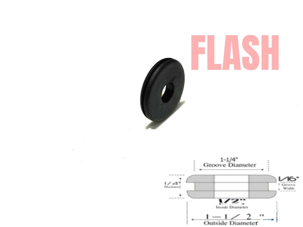 Rubber Grommet RG12114116 - Rubberfeetwarehouse