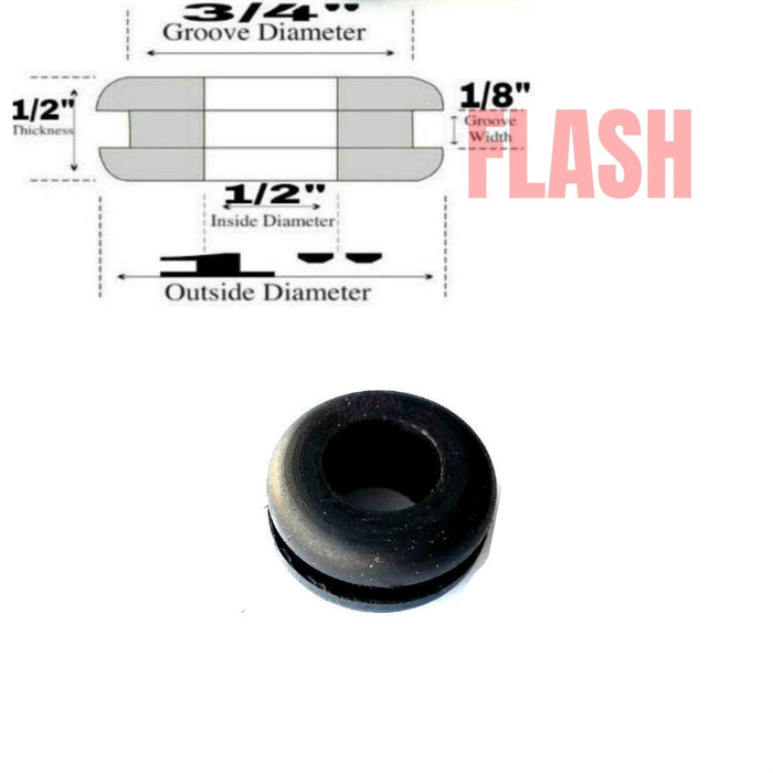 Rubber Grommet For Electrical Panel Box Knockouts