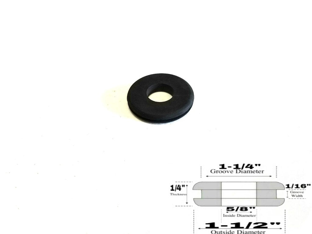 Rubber Grommet RG58114112 - Rubberfeetwarehouse
