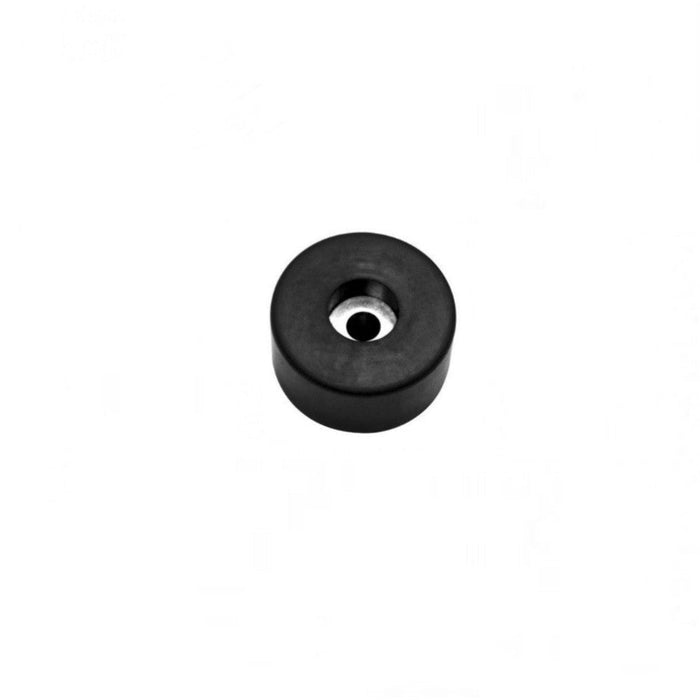 "1-1/2"" * 5/8"" * 1/2 Recessed Rubber Bumper Feet + Metal Washer"