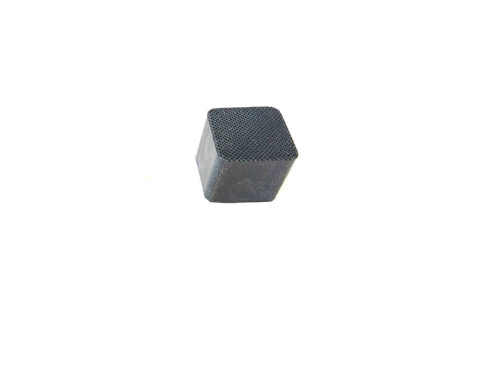 "Square Rubber Feet Cap Tip For Chair, Stool, or Table Legs 1"" I.D x 1-1/4 Ht"