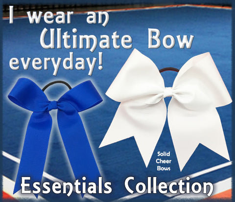 The Ultimate Bow - Essentials Collection | Solid Cheer Bows