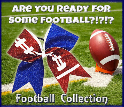 Football Collection | Cheer Bows