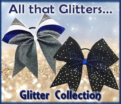 Glitter Collection - Cheer Bows
