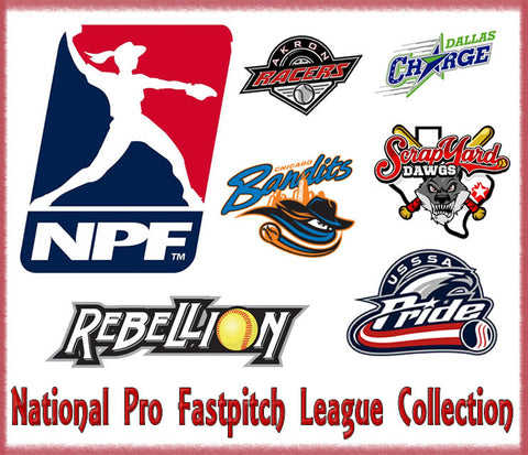 National Pro Fastpitch Softball League Official Bow Collection