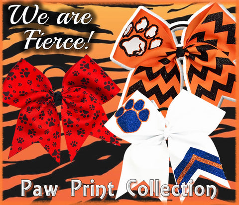 The Ultimate Bow - Paw Print Collection