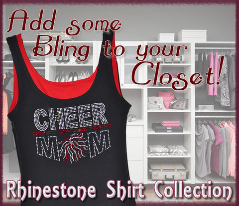 Rhinestone and Glitter Shirt Collection