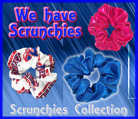 Scrunchies Collection | Hair Scrunchies | Cheer Scrunchies