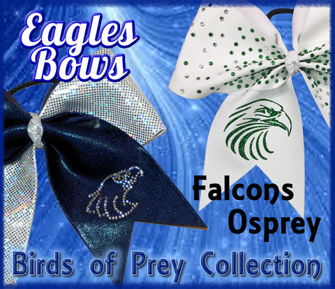 Eagles - Falcons - Birds of Prey Mascot - Cheer Bow Mascots