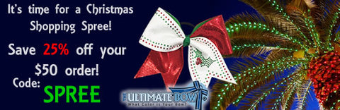 Christmas-shopping-spree-sale-coupon-code-save-on-cheer-bows