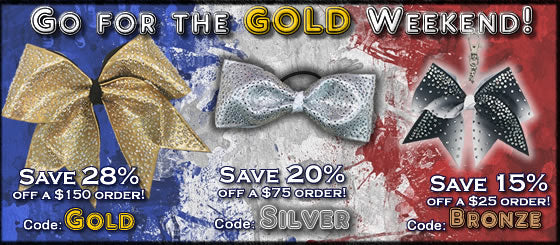 Olympic Sized Savings | Cheer Bow Sale | Coupon Codes