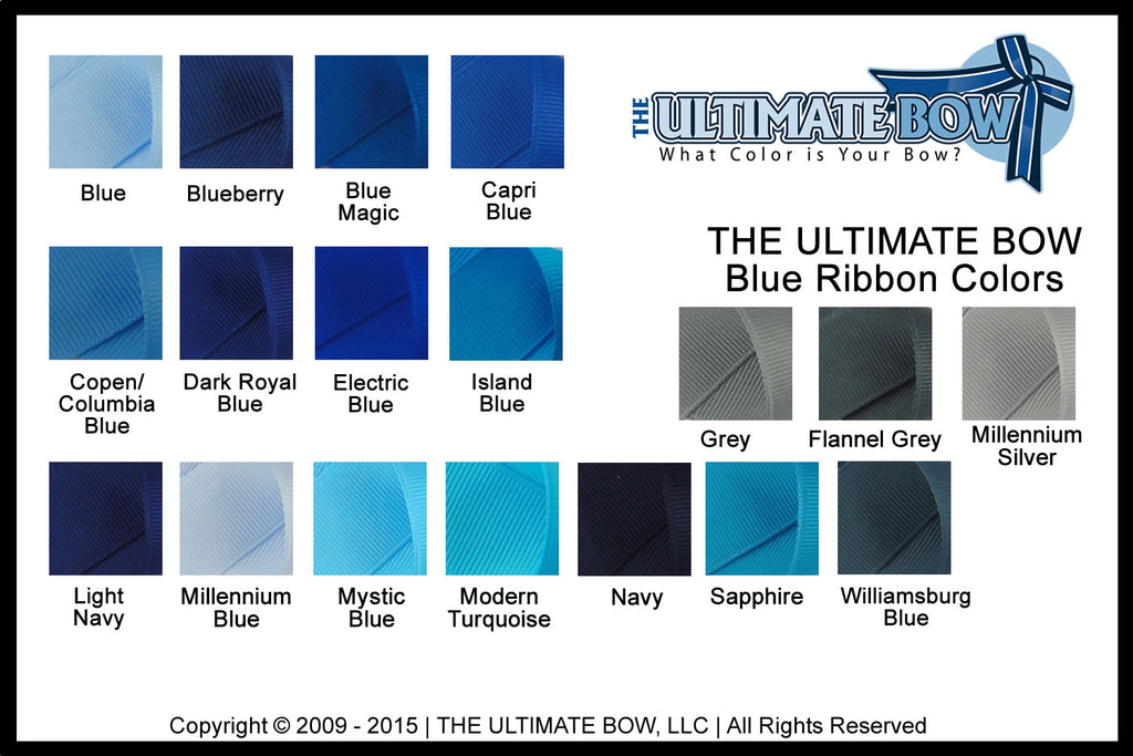 Color Charts | The Ultimate Bow