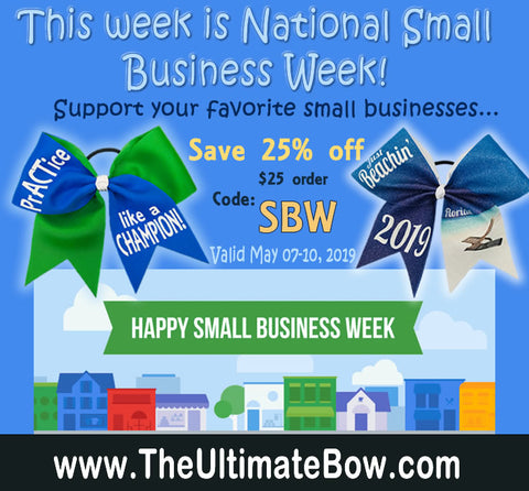 Celebrate National Small Business Week with great savings!