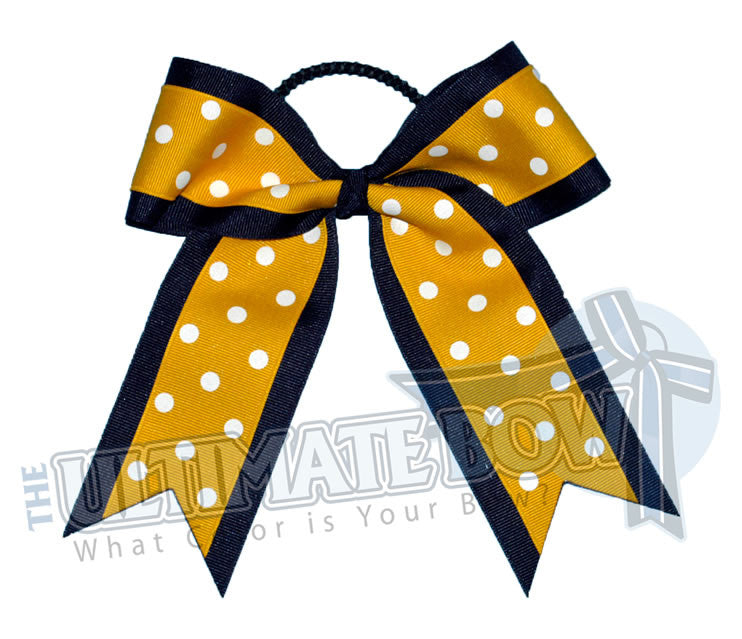 Big-dots-polka-dot-cheer-bow-navy-yellow-gold