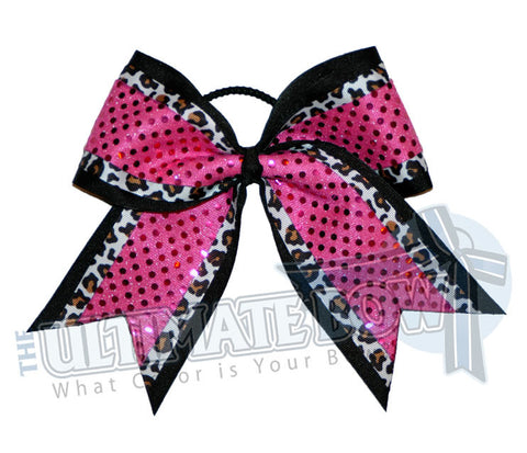 big-game-cheetah-print-cheer-bow-black-hot-pink-sequin-dots