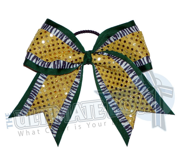 big-game-zebra-striped-cheer-bow-black-gold-sequin-dots