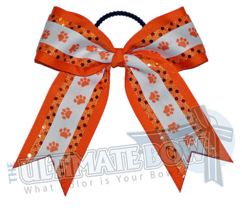big-paws-cheer-bow-orange-white-pawprint