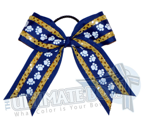 big-paws-cheer-bow-royalblue-gold-black-pawprint