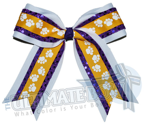 big-paws-cheer-bow-purple-gold-pawprint