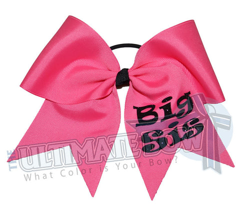 Sisters Cheer Bow | Big Sis Cheer Bow | Little Sis Cheer Bow