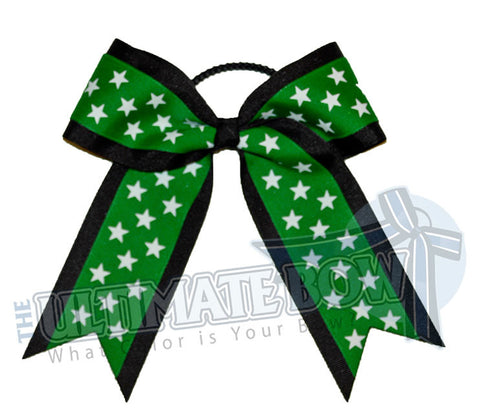 big-star-black-emerald-green-white-star-cheer-bow