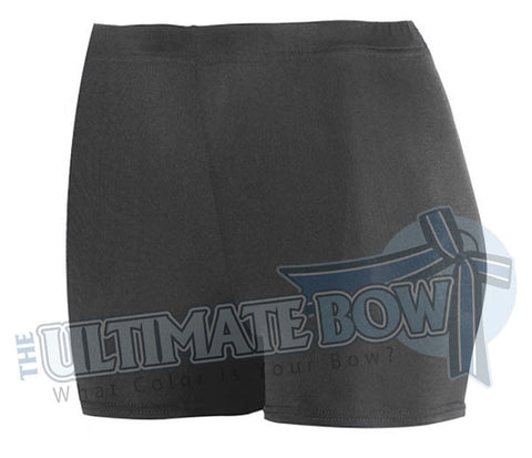 Ladies-Spandex-spanks-boy-cut-shorts-black-1210-Augusta-Sportswear-cheerleading-softball-soccer-volleyball-workout