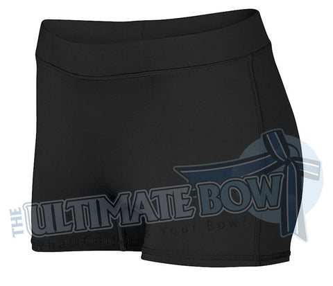 Ladies-Dare-Spandex-spanks-boy-cut-shorts-black-1232-Augusta-Sportswear-cheerleading-softball-soccer-volleyball-workout