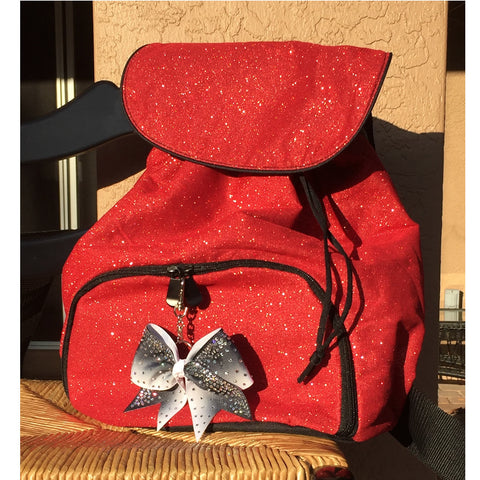 Red-sparkle-glitter-back-pack-cheer-bag-softball-Augusta-1105