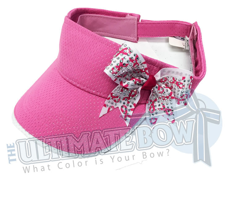 I-Wear-Pink-breast-cancer-awareness-visor-pink-ribbon-pink-visor