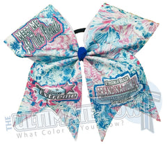 CDE Grand National Championship by the Sea Big Glitter Cheer Bow