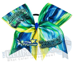 CDE Lancaster Live - Glitter Event Cheer Bow