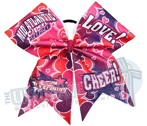 Cheer and Dance Extreme - Mid-Atlantic Open 2020 Glitter Cheer Bow
