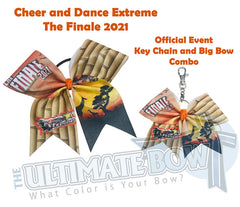 CDE The Finale Glitter Big Bow and Key Chain Combo