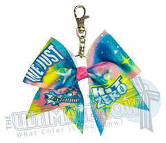 Cheer and Dance Extreme - We Just Kit Zero Key Chain Bow | CDE Event Bow | 2021 Cheer Season Bow