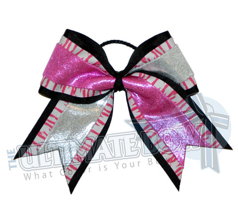 superior-zebra-mystic-diva-cheer-bow-black-hot-pink-silver-striped-tiger