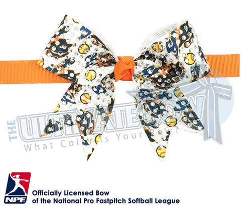 Chicago Bandits - Official Rhinestone Bat Bag Bow