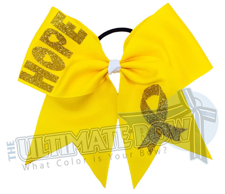 Childrens Hope Childhood Cancer Awareness Bow