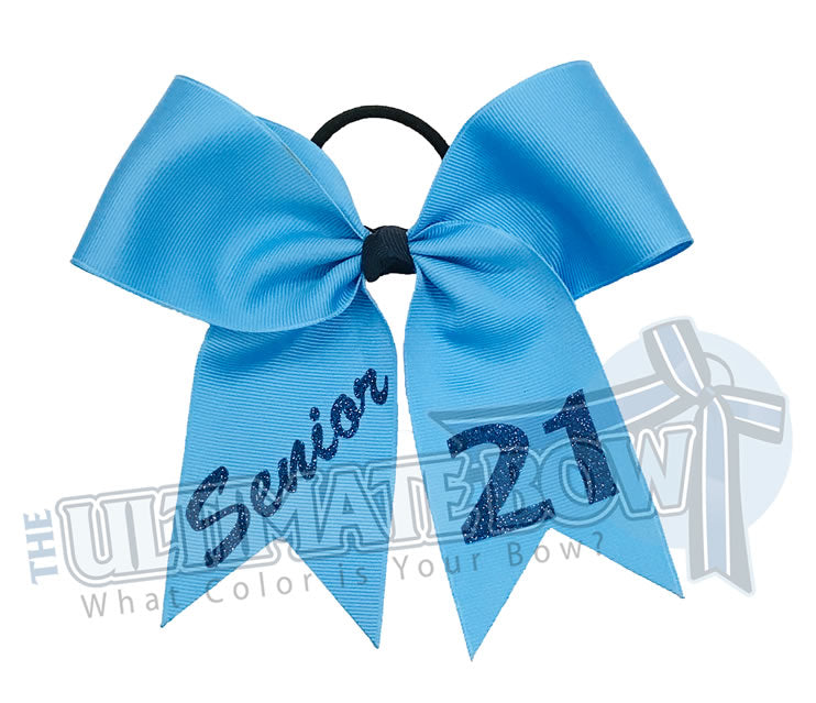 class-act-cheer-bow-senior - Class of 2021 - Senior Year - Senior Cheer Bow | Copen | Navy