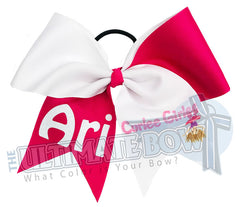Curlee Girlee Personalized Logo Bow