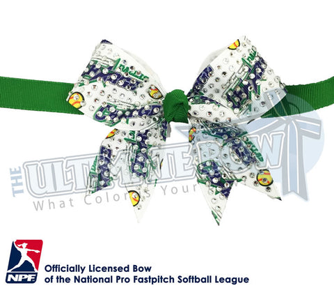 Dallas Charge - Official Rhinestone Bat Bag Bow