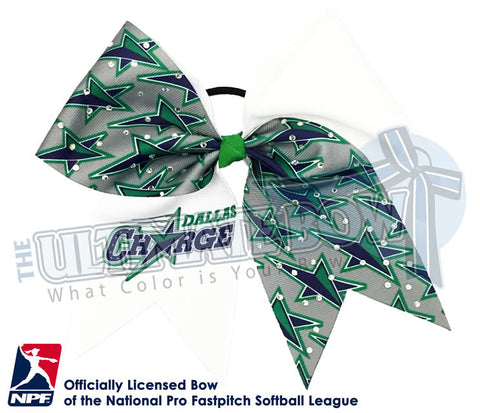Dallas Charge - Official Rhinestone Logo Bow